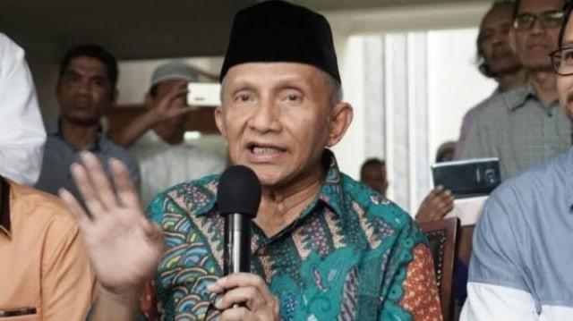 Amien Rais Dapat Wangsit Prabowo Menang?