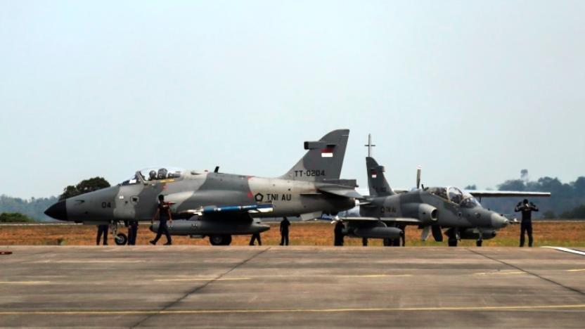 Isu 3 Jet Tempur Hadang Pesawat Prabowo Dibantah TNI AU