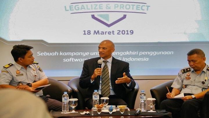 Indonesia Pengguna Perangkat Lunak Bajakan Tertinggi di Asia Pasifik