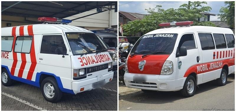 Perbedaan Ambulans dengan Mobil Jenazah