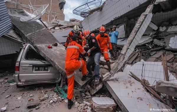 Kejadian Bencana Alam di Indonesia Tahun 2018
