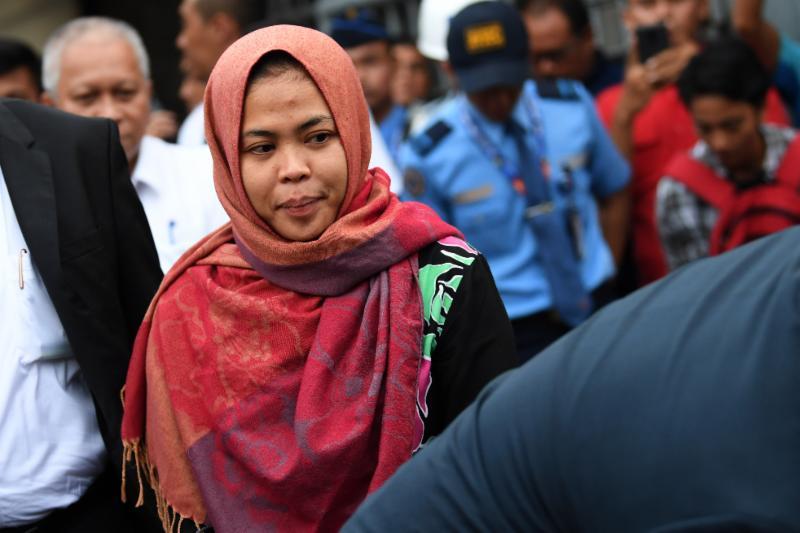 Siti Aisyah Temui Presiden Jokowi di Istana