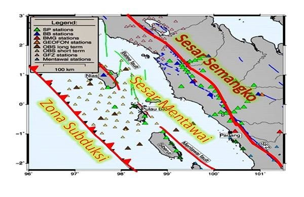 Gempa Mentawai Dekat Zona Megathrust Perlu Diwaspadai