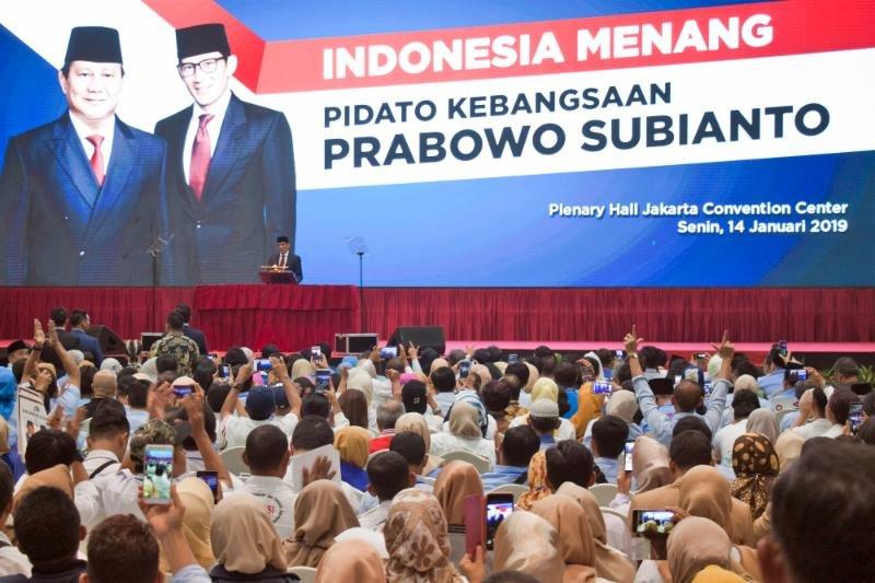 Ubah Visi Misi Prabowo-Sandi Kok Labil Sih?