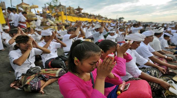 Beberapa Prosesi Umat Hindu Saat Rayakan Nyepi
