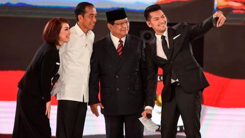 Jokowi Bawa-bawa Dilan ke Debat Capres