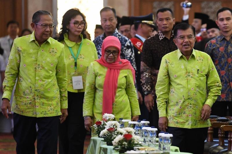 Jusuf Kalla bela Sri Mulyani yang dihujat Prabowo