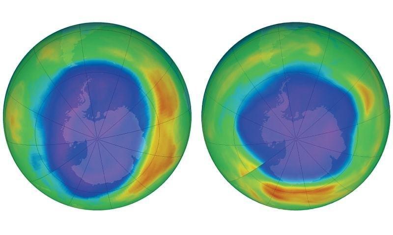 Begini Cara Lapisan Ozon Menutup Lubangnya Secara Alami