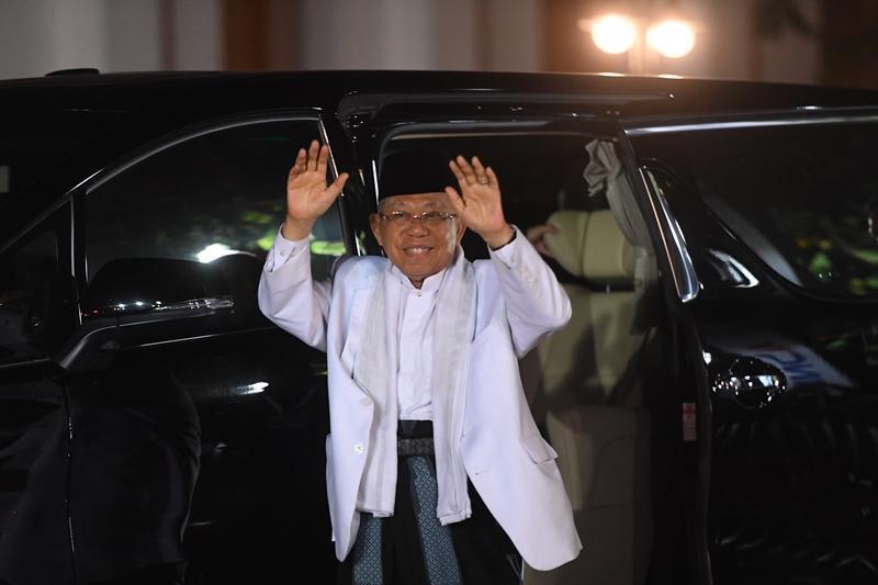Debat Ketiga Pilpres Panggung Ma'ruf Amin & Sandi