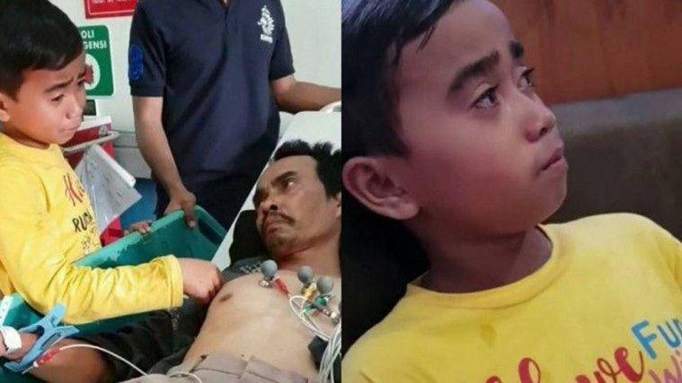 Kisah Bocah 6 SD Rawat Ayah Penyintas Kanker