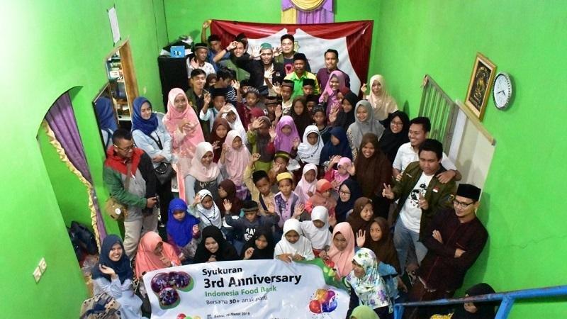 Cara Indonesia Food Bank Rayakan Anniversary ke-3