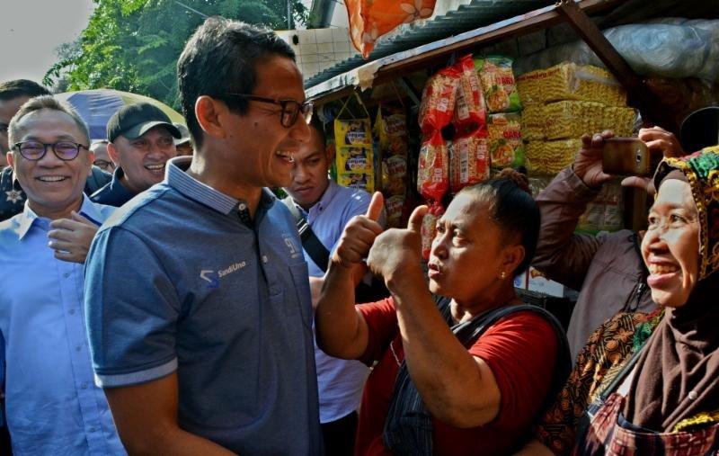 Gerah,Sandiaga Siap Tantang Jokowi Adu Data