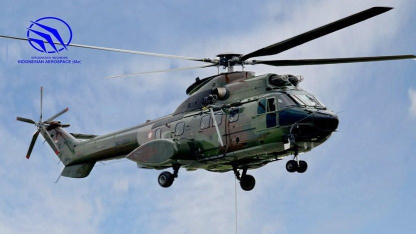 Kemenhan Pesan Helikopter Super Puma Buatan PT DI