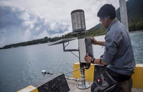 BMKG Pasang Alat InaSEIS di Selat Sunda