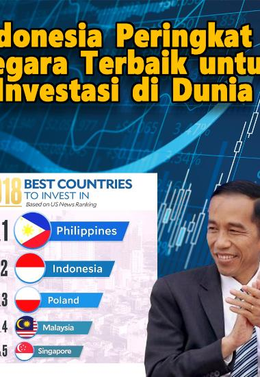 10 Negara Terbaik untuk Investasi, Indonesia Nomor Berapa? : Okezone Economy